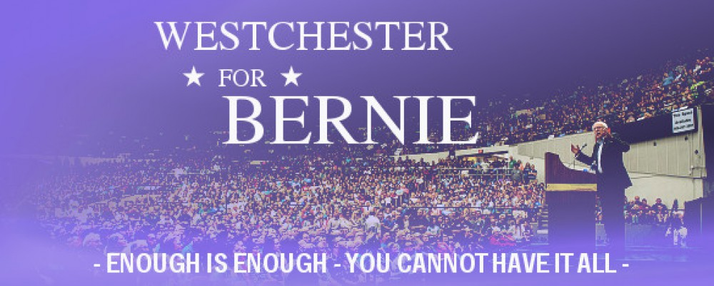 Westchester County For Bernie
